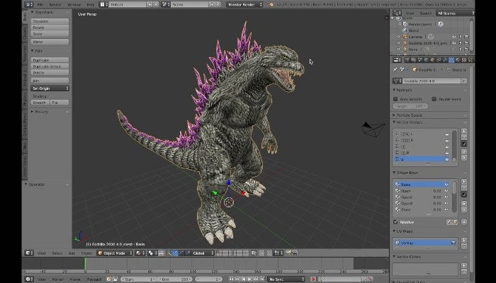 blender professional 3d software