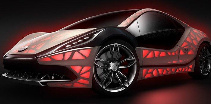edag light cocoon 3d printed car
