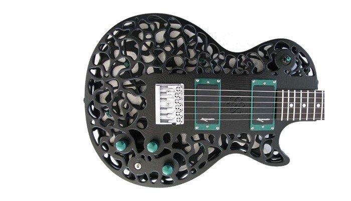 selective laser sintering sls guitar part