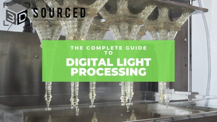 digital light processing dlp 3d printing guide cover