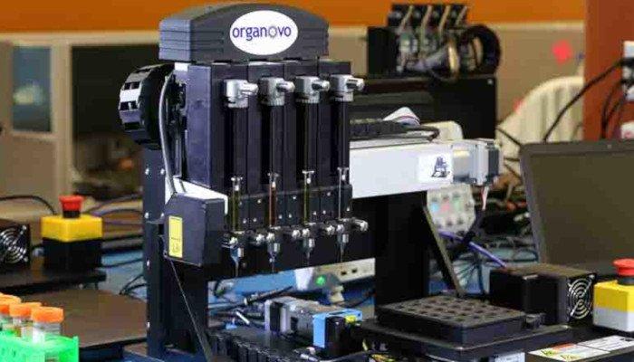 organovo 3d printing stock