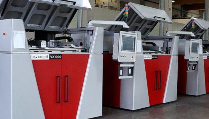 voxeljet 3d printing stock
