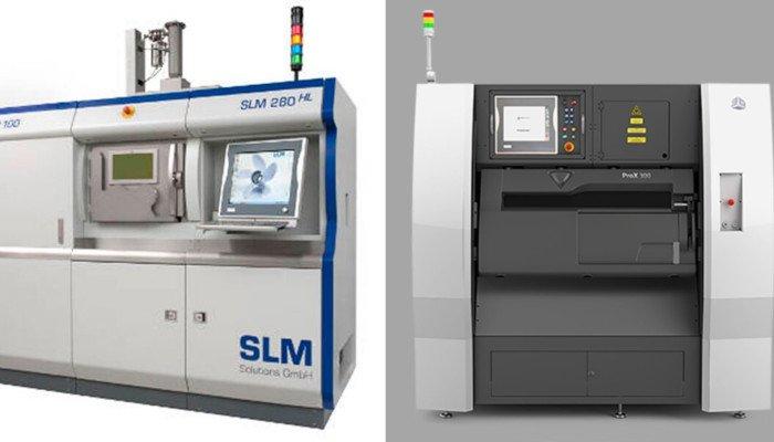 dmls vs slm 3d printer