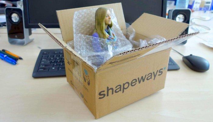 shapeways 3d printing company service
