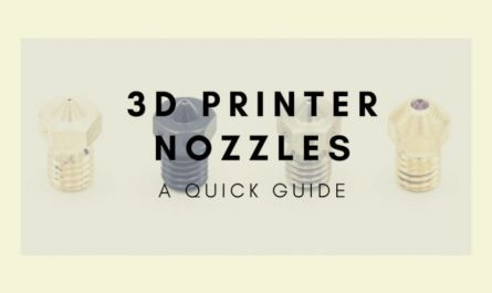 3d printer nozzle guide cover