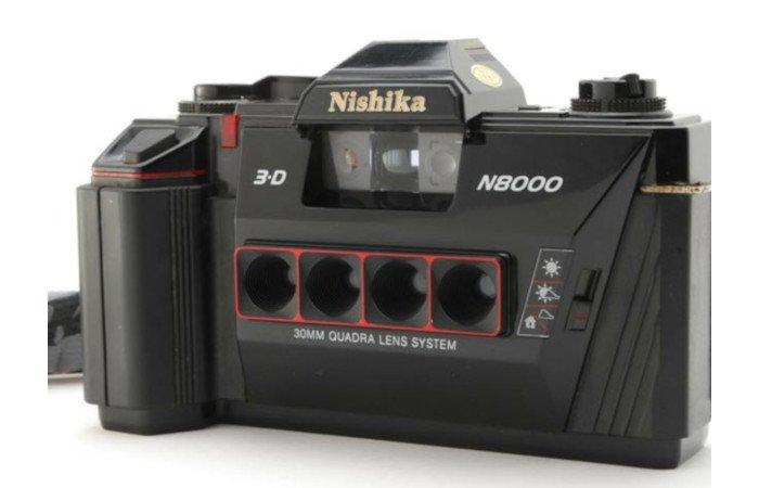 nishika n8000 3d stereo camera analog 35mm