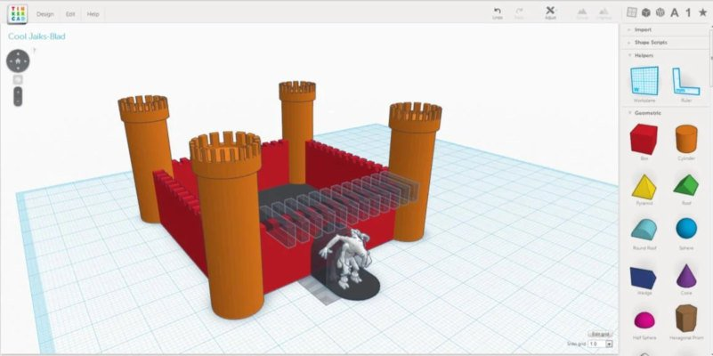 tinkercad free 3d cad software