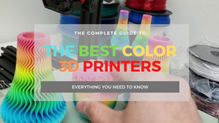 best color 3d printers full color multi color