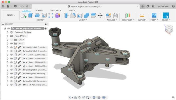 fusion 360 3d printer software