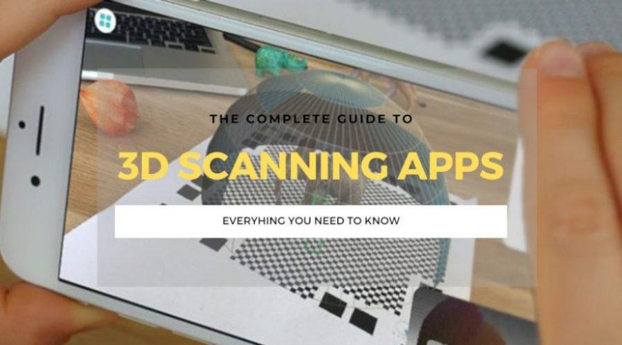 best 3d scanner scanning apps ranking
