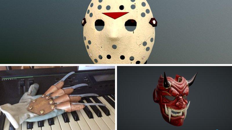 3d printed halloween costume accessories