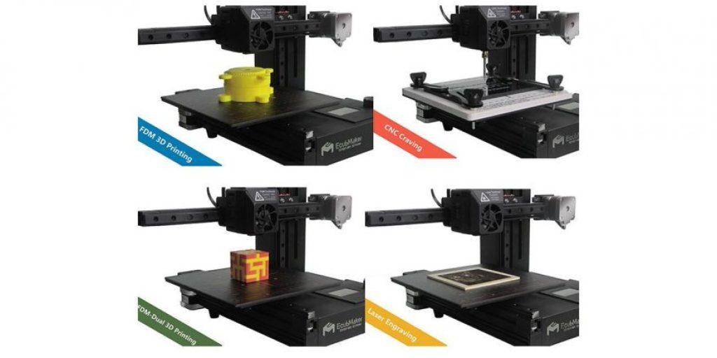 ecubmaker toydiy 4 in 1 3d printer