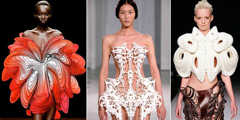 iris van herpen 3d printed clothes collection