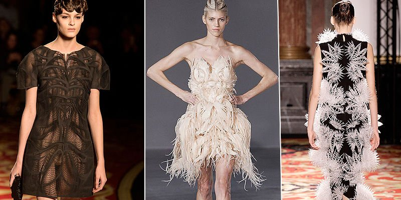 iris van herpen voltage 3d printed clothing collection