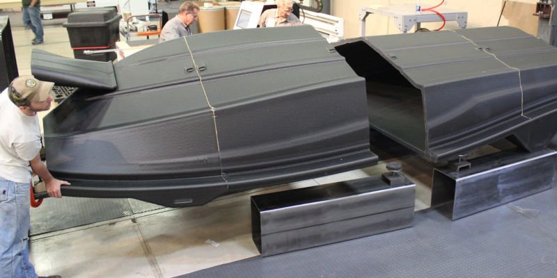 lsam 3d printed boat hull