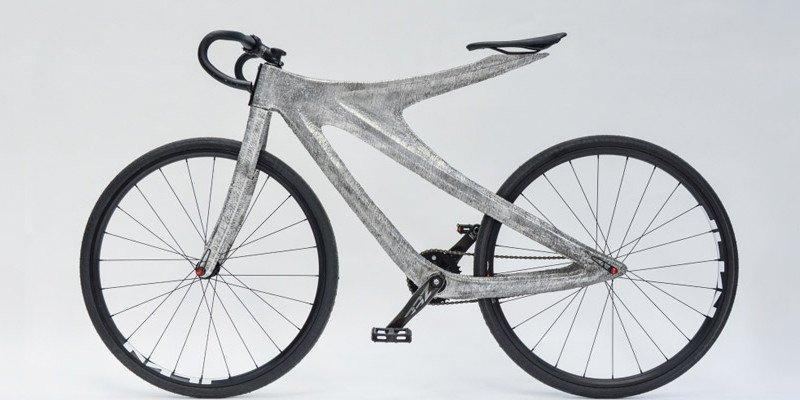 Aluminum 3D printed bike