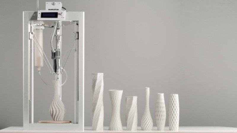 cerambot air low cost ceramic 3d printer