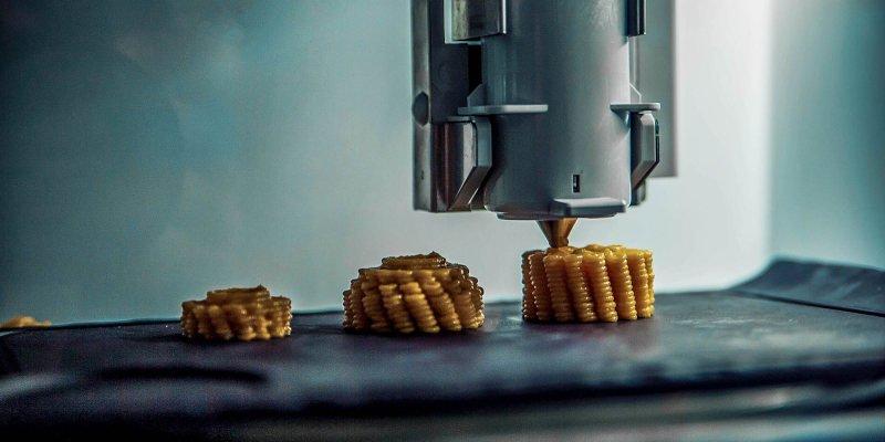 3d printing uses in food