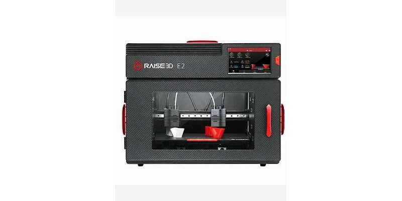 raise3d e2 enclosed 3d printer