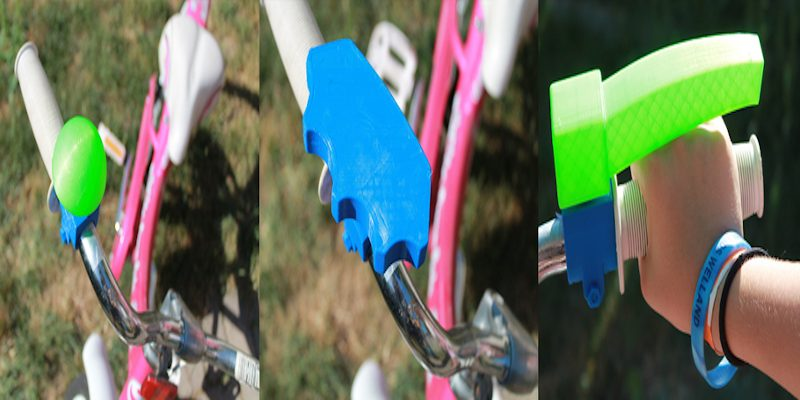 3D printed bike accessories for acceisibility
