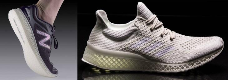 new balance e futurecraft 3d printed shoes
