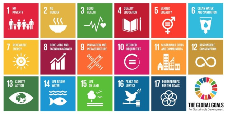 protocube global goals stampa 3d