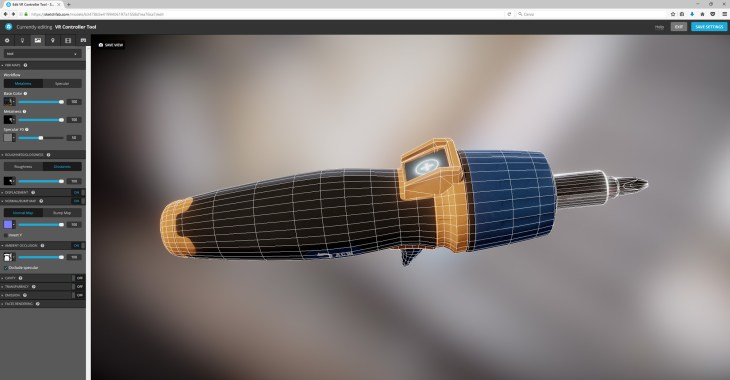 3d custom tool sketchfab