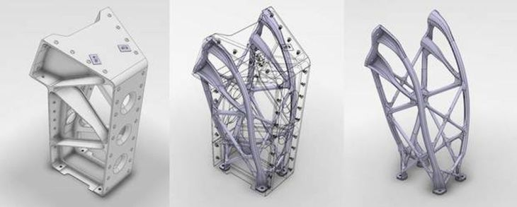 Airbus Defence and Space Generative Design 3D