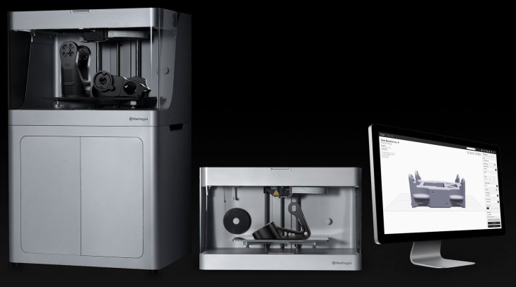 markforged 3d printer lineup