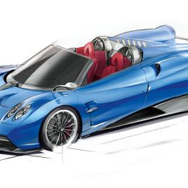 Huayra_Roadster_sketch_3d
