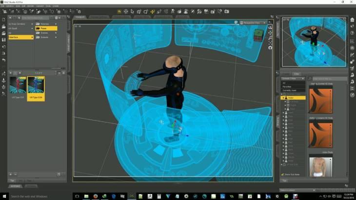 interfacce 3D 360 - UX design