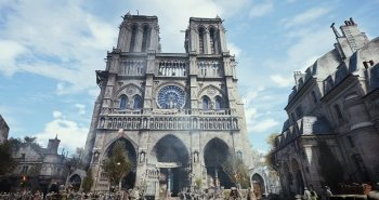 la notre dame di assassin's creed unity (credit: ubisoft)