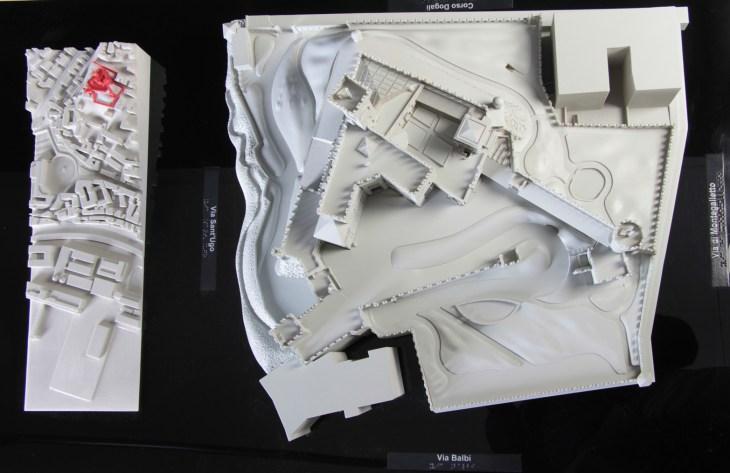 De Albertis Castle - Genova - tactile 3d model