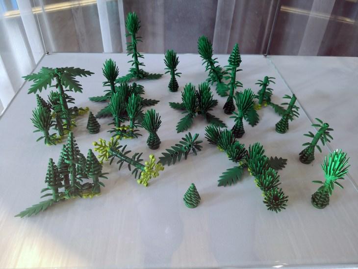 broken nature design - Plants for Plants - LEGO 3D