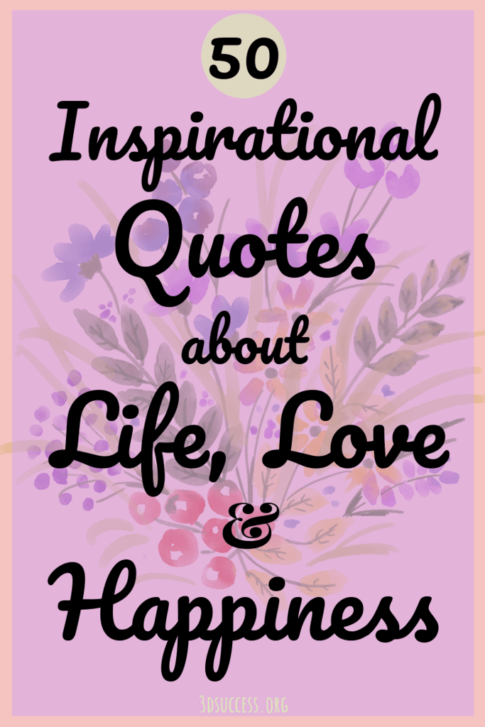 50 inspirational quotes about