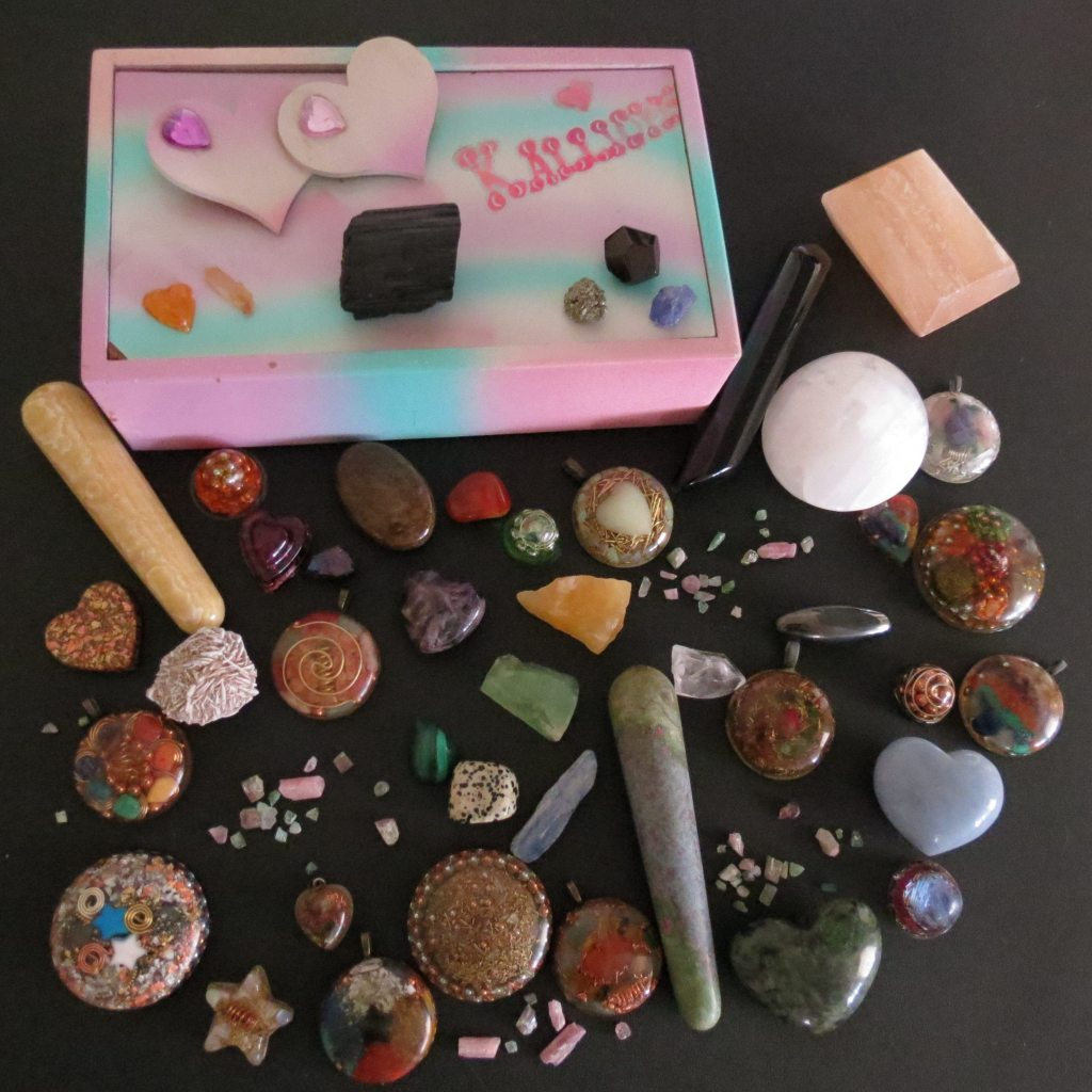 healing crystals for HSP/Empath