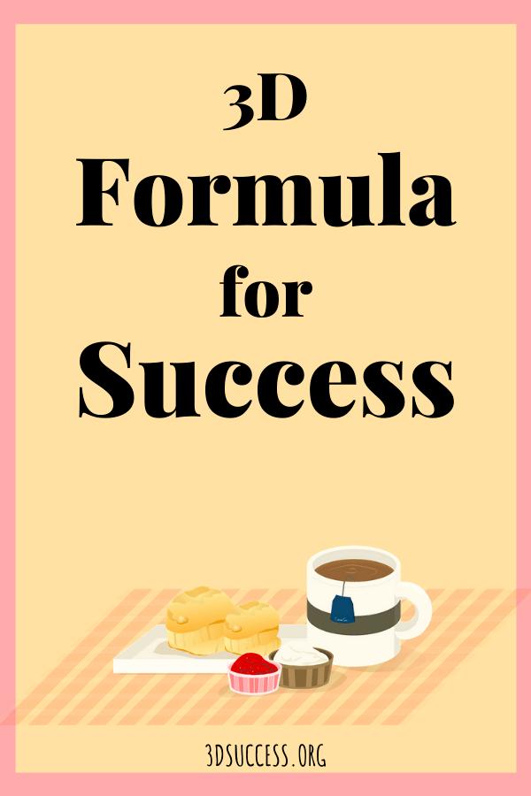 Formula for Success Pin