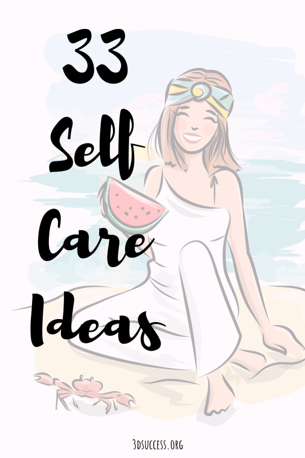 33 Self Care Ideas Pin