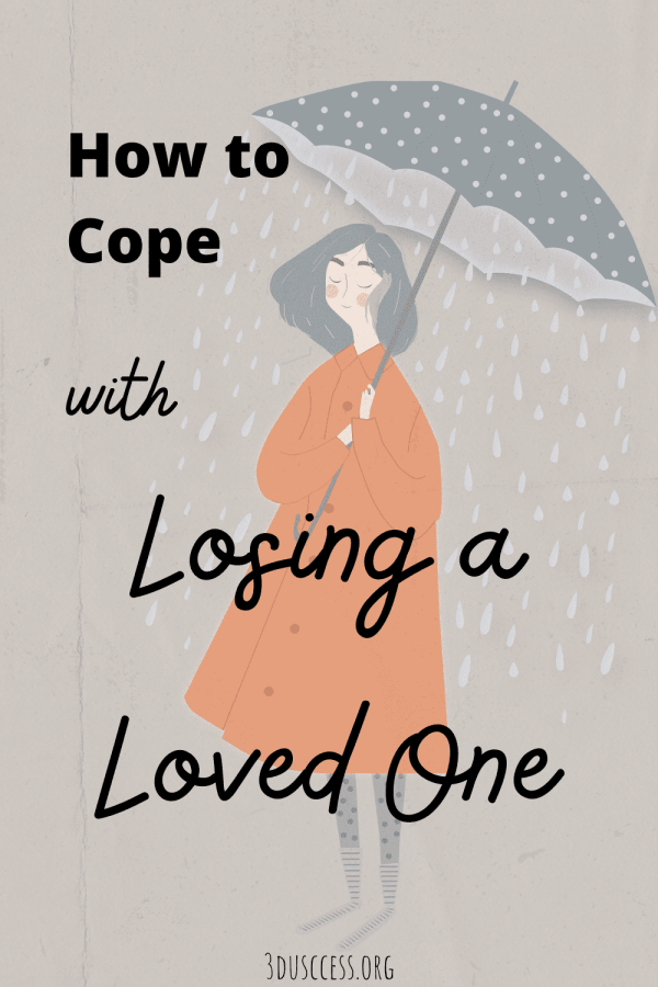 How to Cope with Losing a Loved One Pin