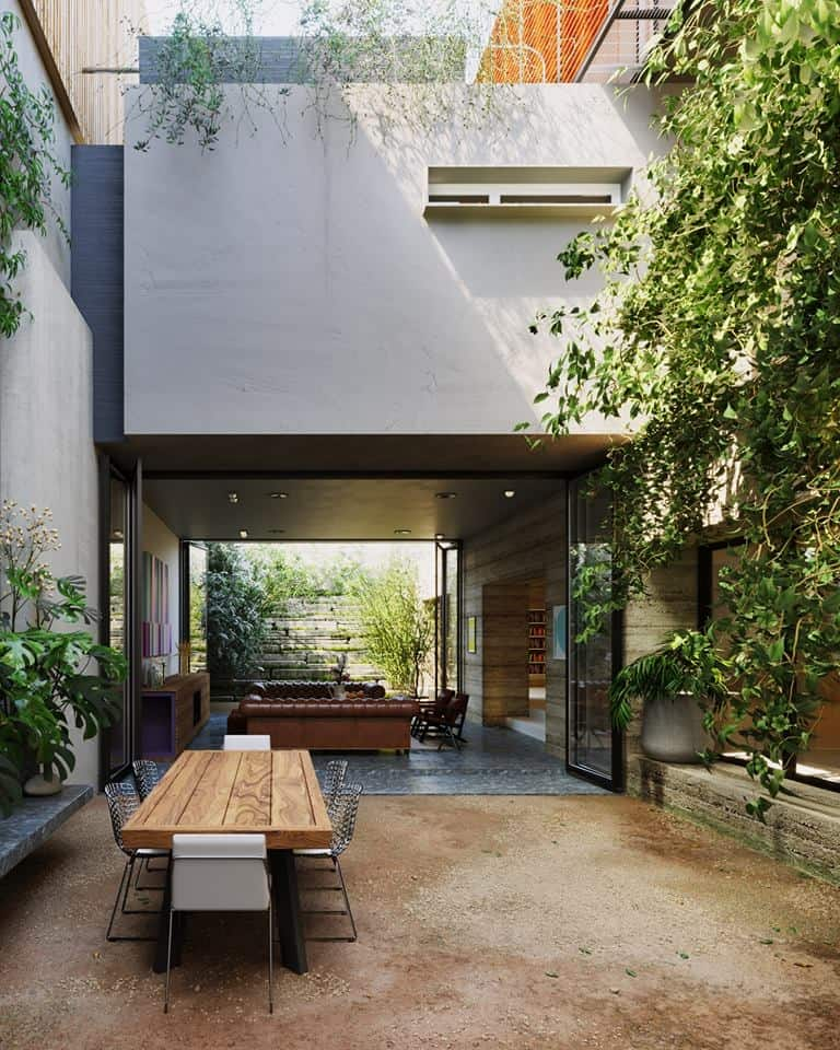 3d Exterior House Designs: Free PN House Exterior Scene 3D Model