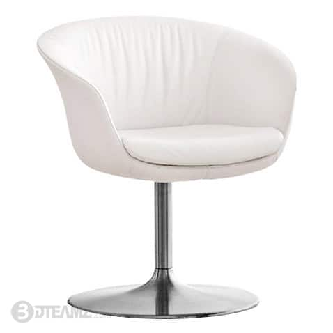 round base chair la z boy office big and tall walter knoll bob white 3d model 3dteamz