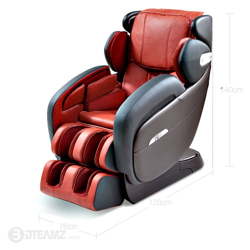 Cheers Massage Chair Red 3D Model