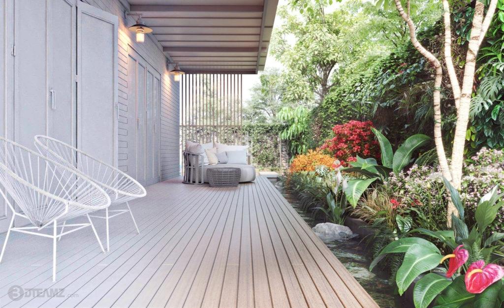 Backyard Garden  3D Model