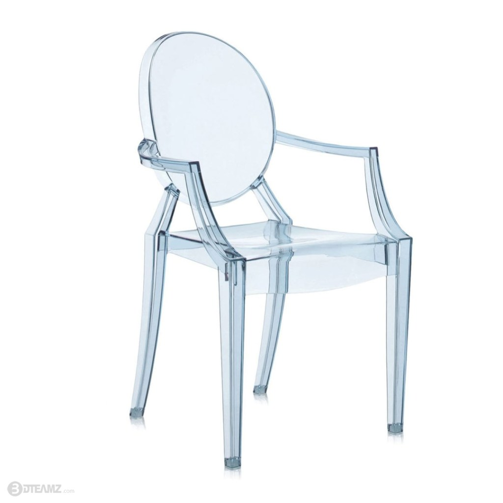 Kartell Philppe Stark Lou Lou Ghost Chair 3D