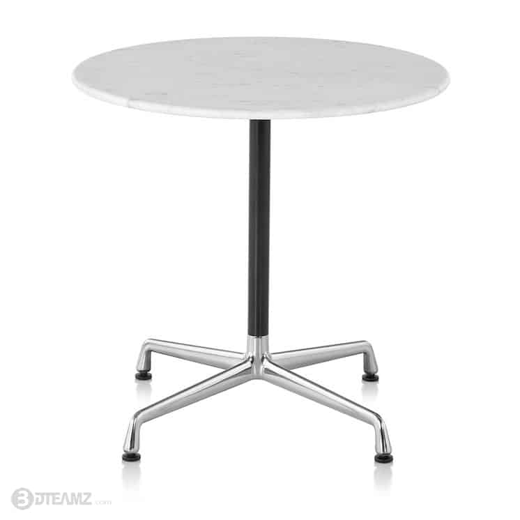 Charmant HermanMiller Eames Round Table Universal Base 3D