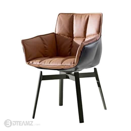 Bb Italia Husk P1gn Chair 3d