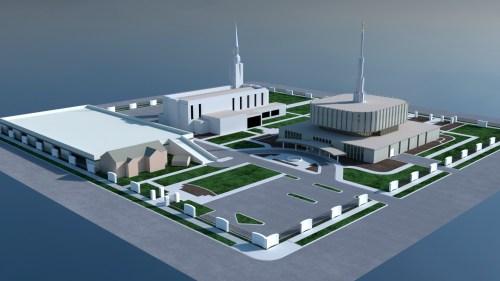 Ogden Utah Temple updated Design and landscaping