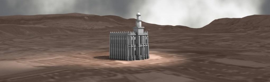 Saint George Utah Temple Experimental Render