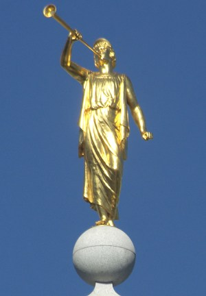 Cyrus Dallin's Angel Moroni Statue - Temple Square