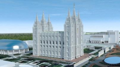 Salt Lake Temple C Early